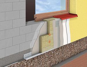 Утепление стен из газобетона снаружи