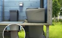 Купить торфяной туалет для дачи финский