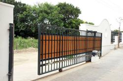 Ворота сдвижные своими руками