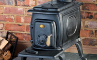 Чугунная дровяная печь (фото)