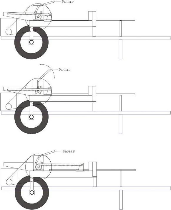 Реечный дровокол чертежи инструкции