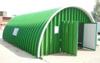 Бескаркасный ангар - гараж