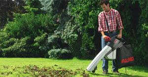 Пылесос для сбора листьев